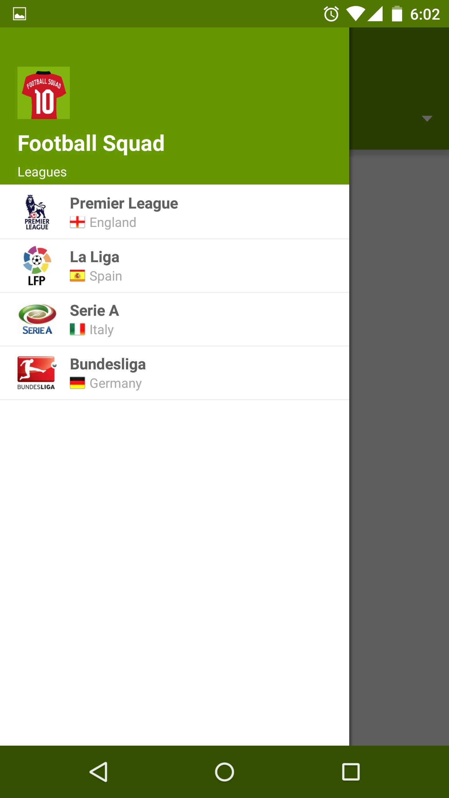 Football Squad | Screenshot 1