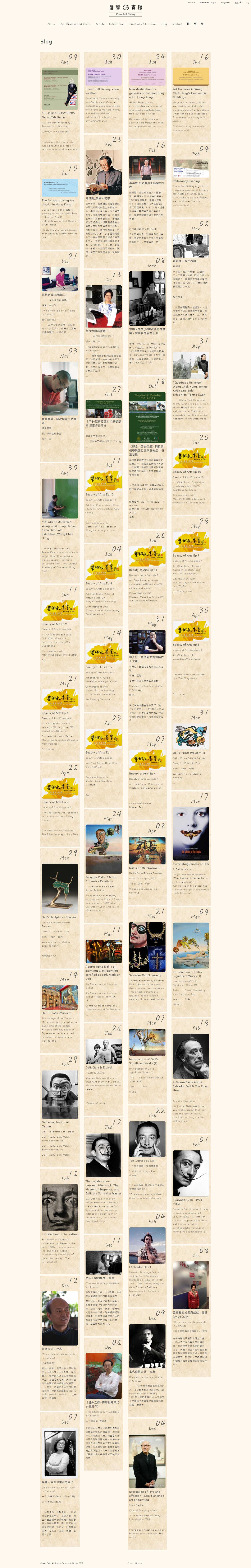 Cheer Bell Gallery Website Development | Blog